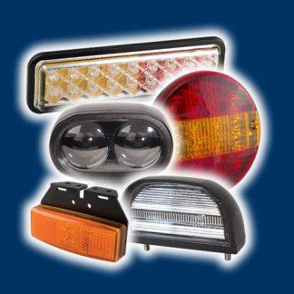 Belysning for lastebiler